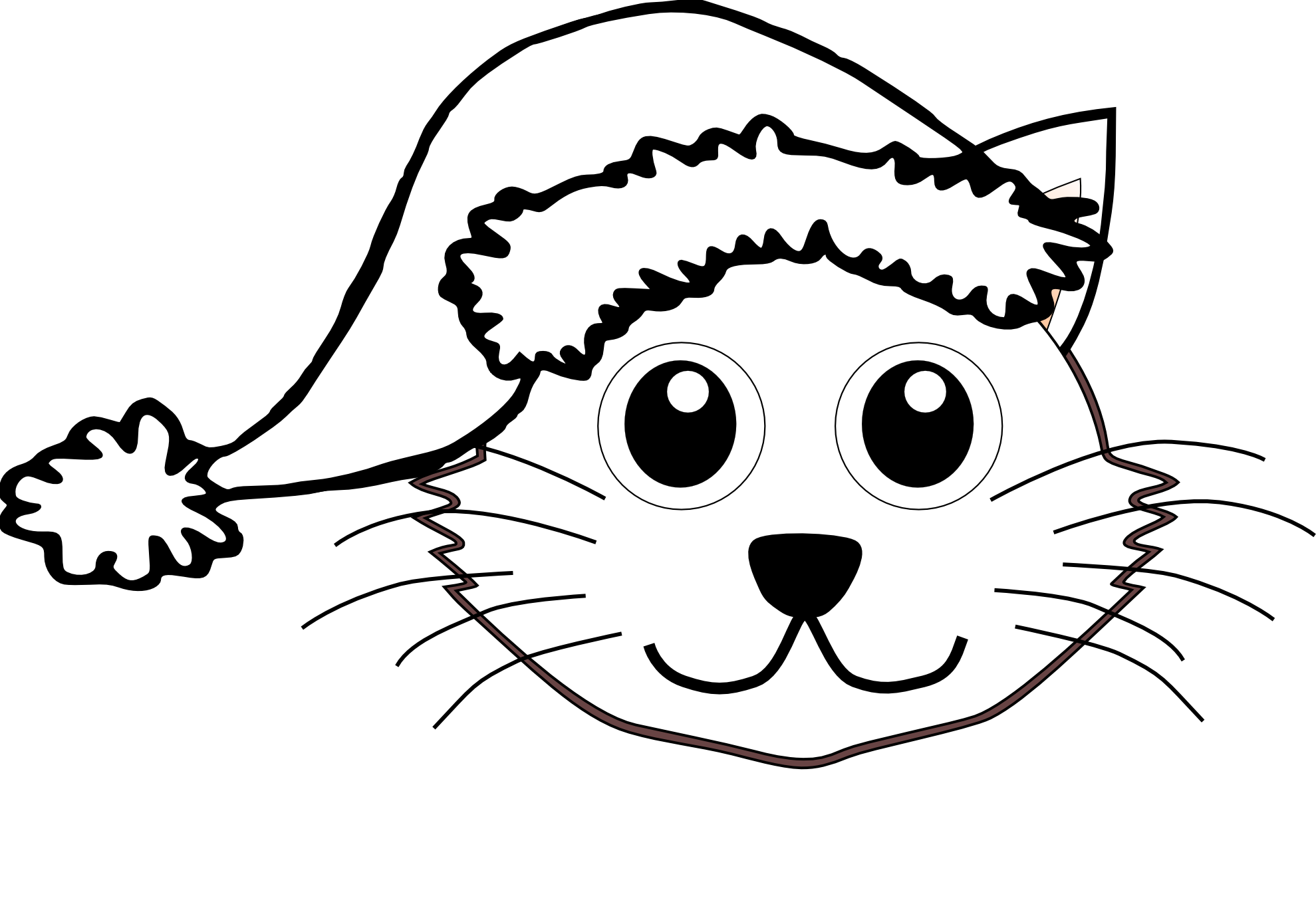 34 Black And White Cat Cartoon Free Cliparts That You Can Download