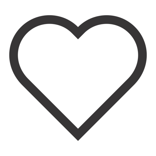 Heart Stencil - ClipArt Best