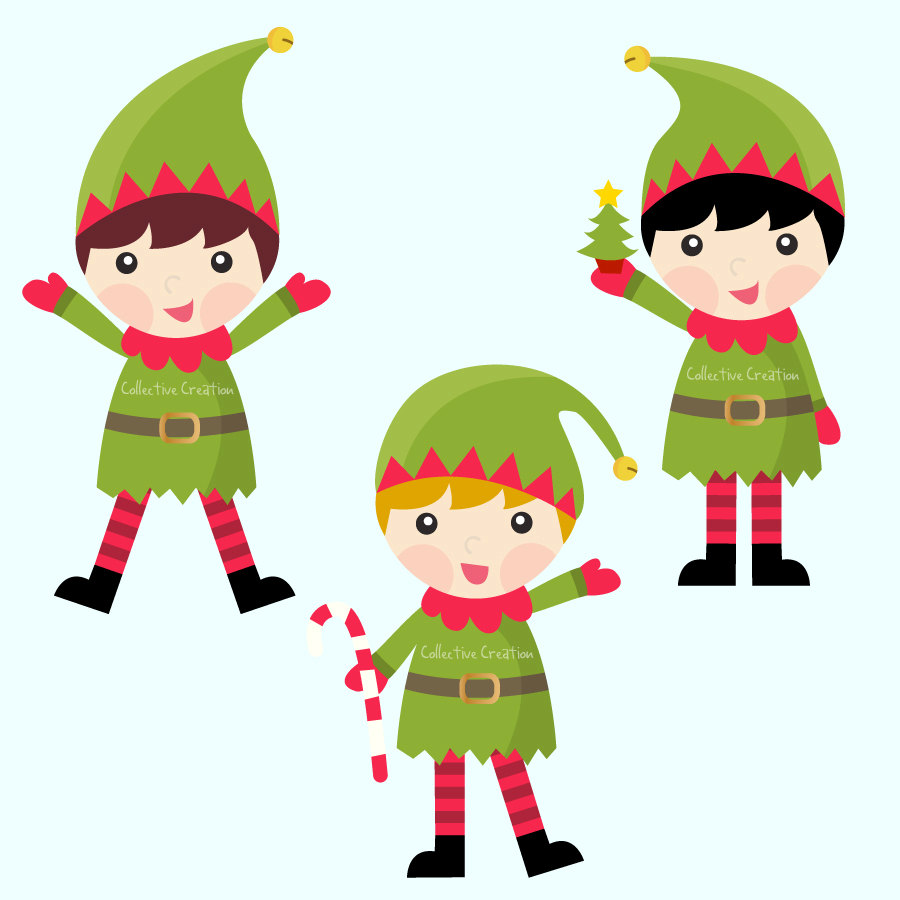 Christmas Elves Pictures - ClipArt Best