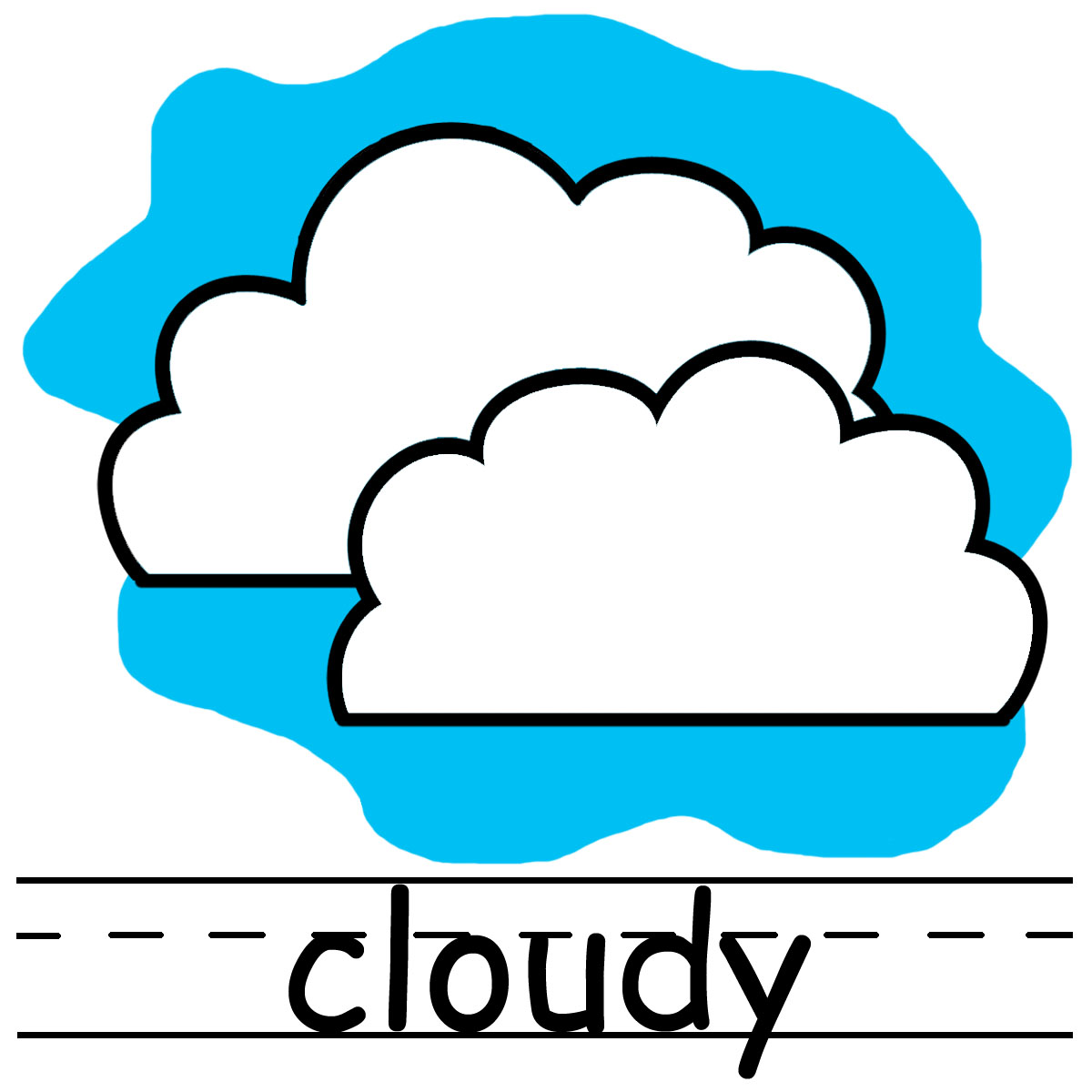 Weather Symbols Windy - ClipArt Best
