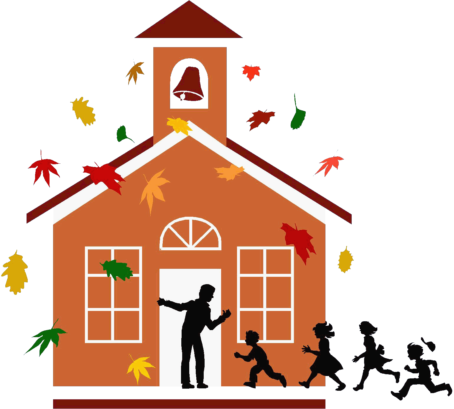 free clipart schoolhouse - photo #23