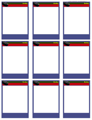 baseball card size template - cards size team clipart best clipart best