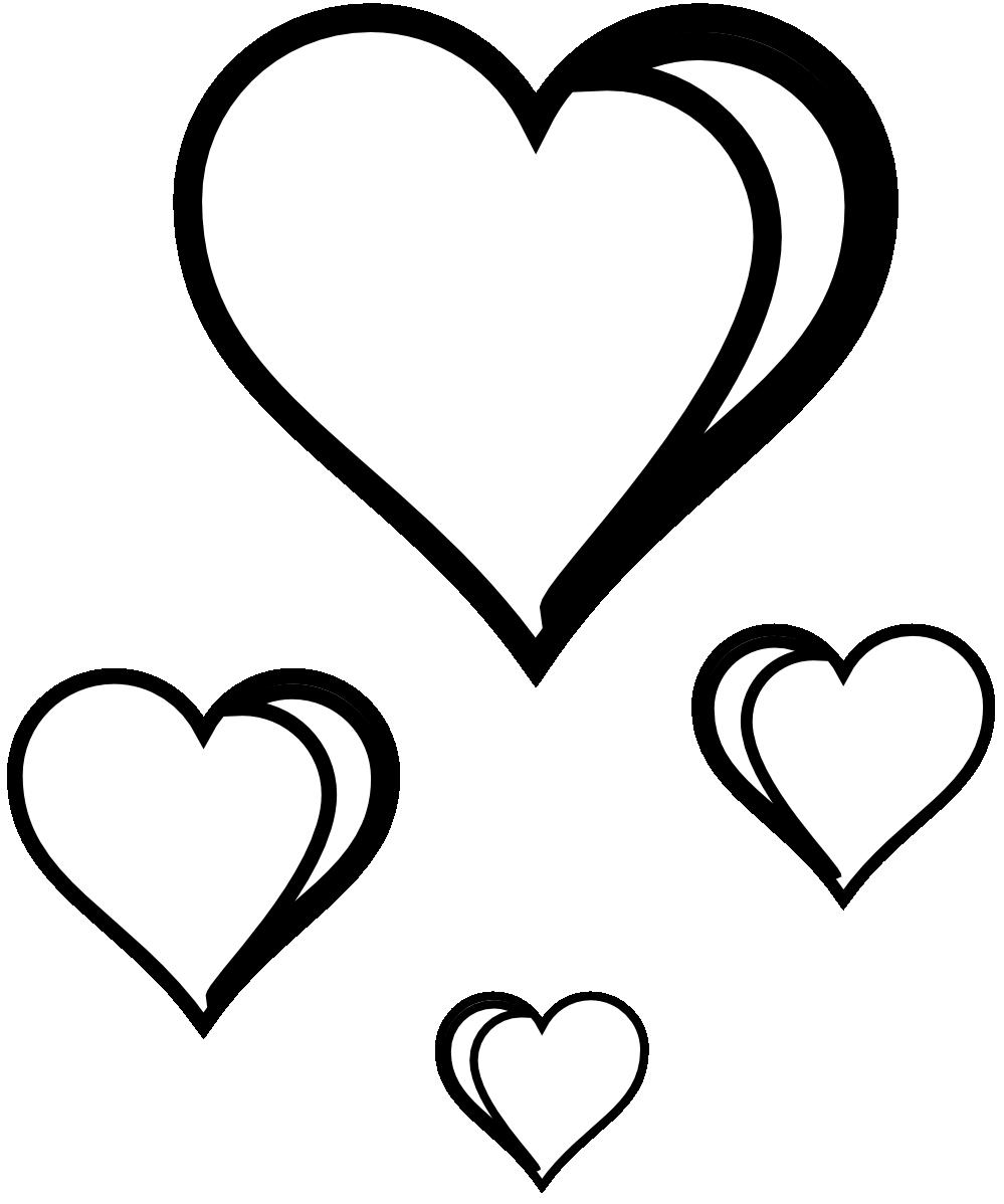 Double Hearts Clip Art Wedding - ClipArt Best