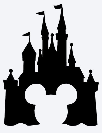 Disney Castle Silhouette | Disney ...