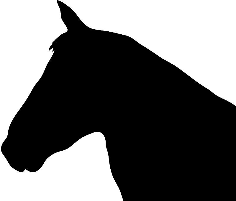 horse clip art free silhouette - photo #46
