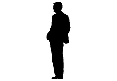 Silhouette Of Man - ClipArt Best