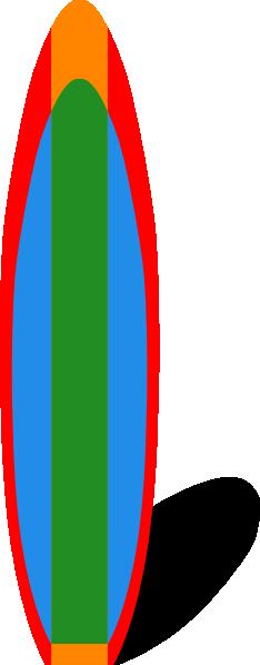 free-vector-surfboard-clip-art ... - ClipArt Best - ClipArt Best
