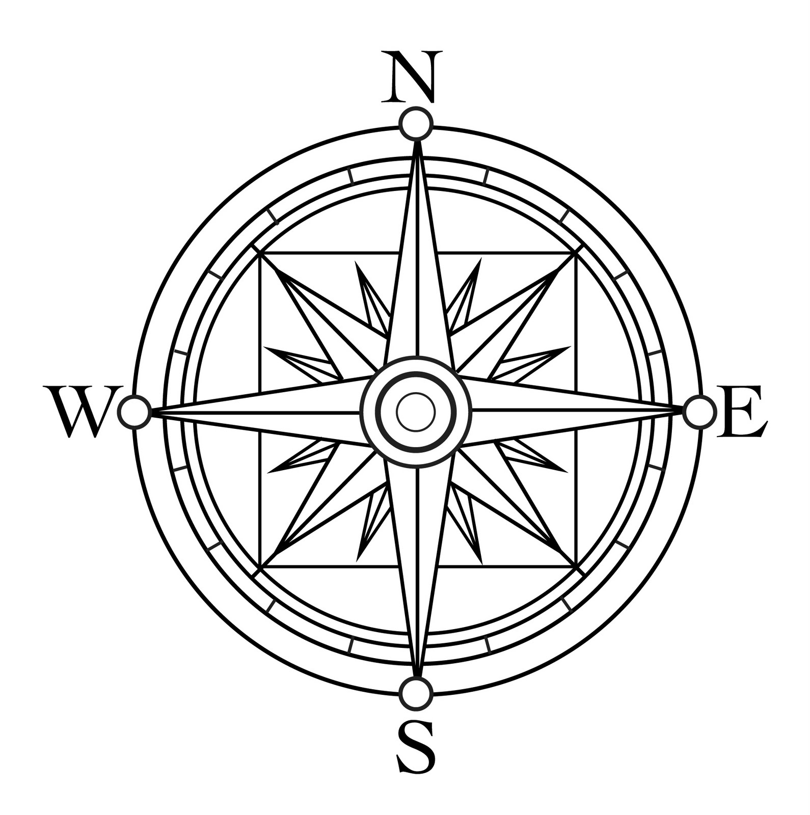 1000+ images about Compass Rose