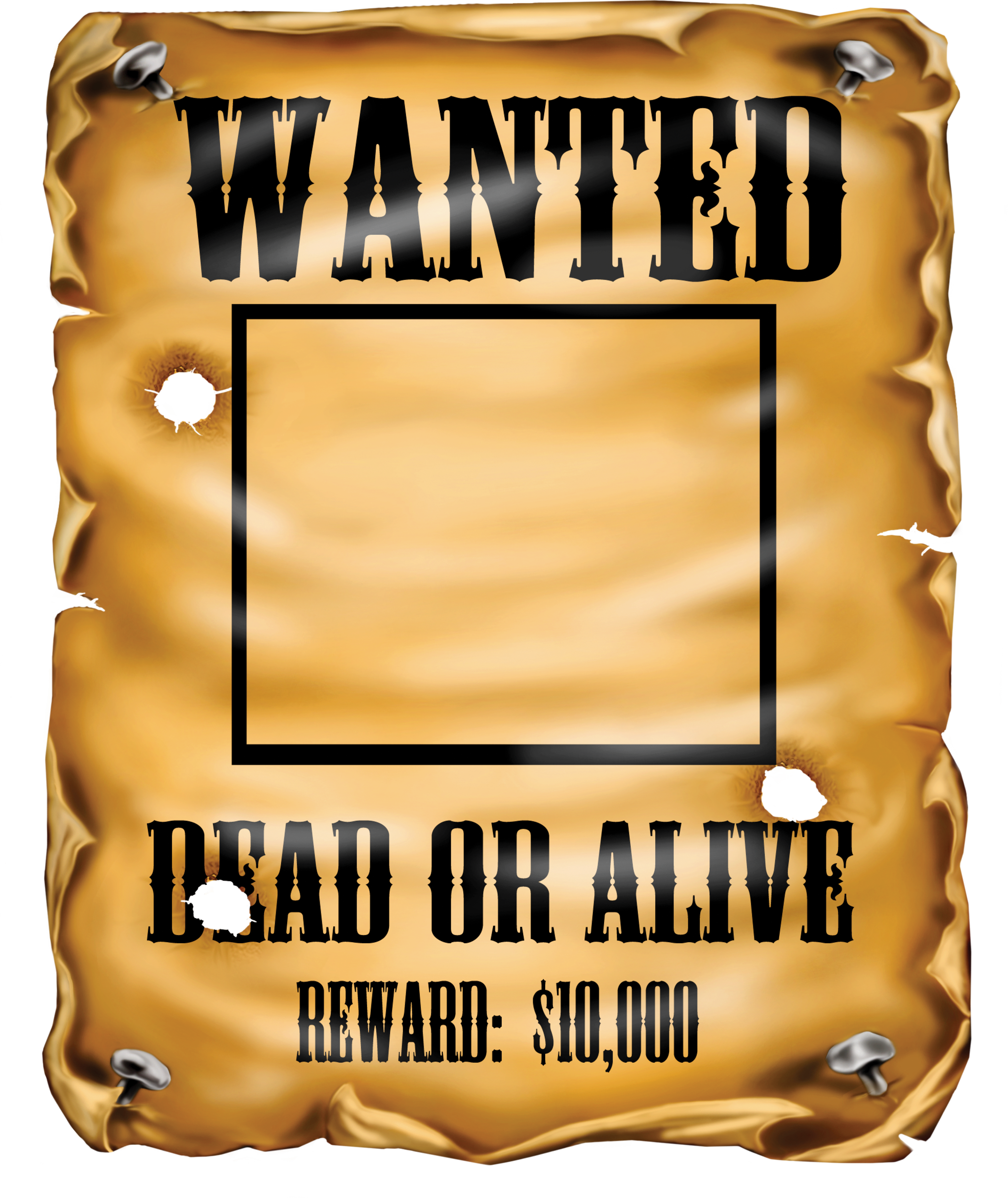 Wanted Clipart