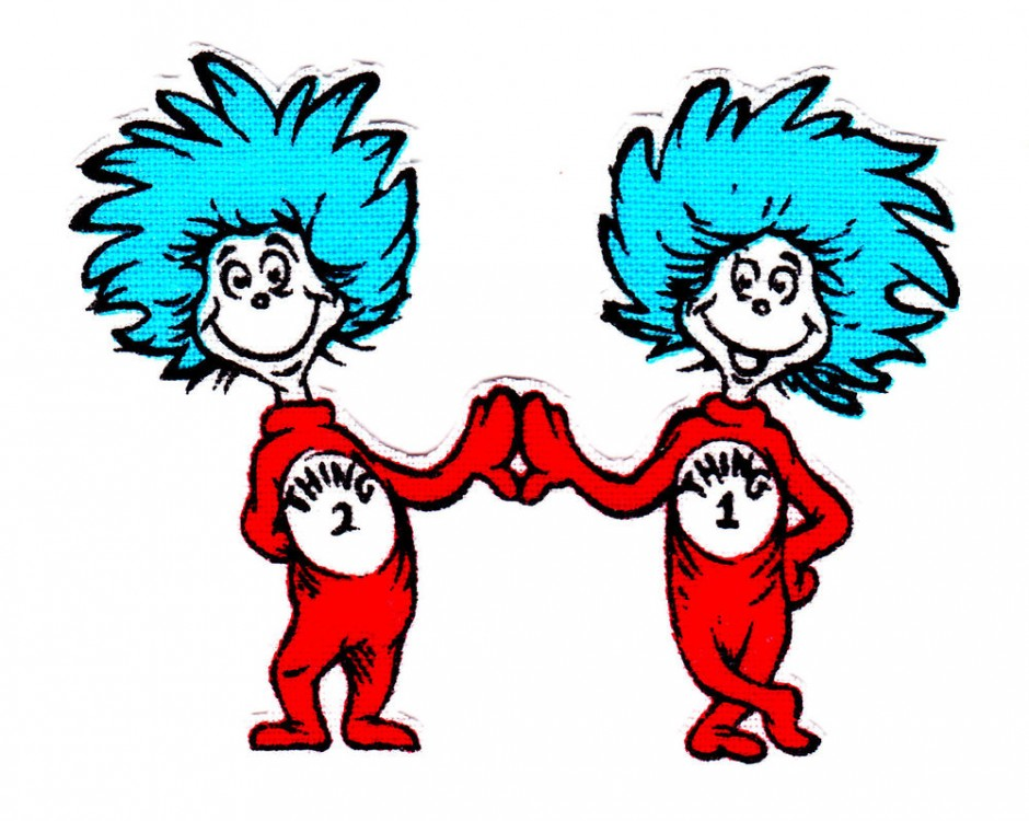 thing 1 and thing 2 printable clip art clipart best Thing Stands Thing Hand and Clip Art One Two Doing thing one and thing two clipart free