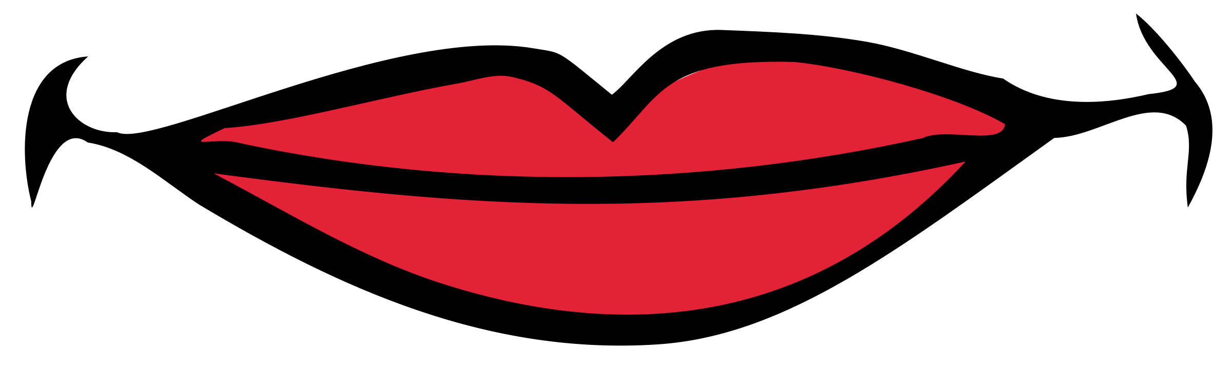 Smile Lips Clipart - Free Clipart Images