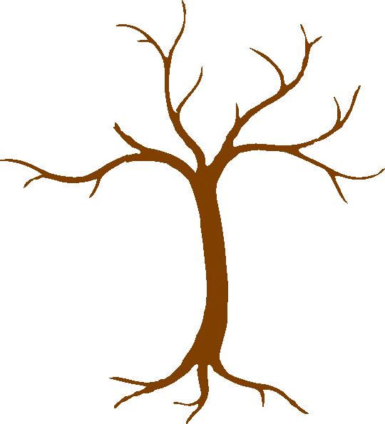 bare fall tree clip art - photo #6