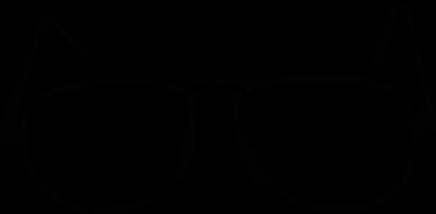 Black Frame Glasses Clipart : Glasses - ClipArt Best