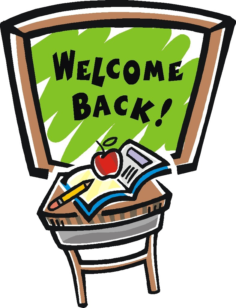 Welcome Back To School Clip Art - ClipArt Best Welcome Back To School Clipart