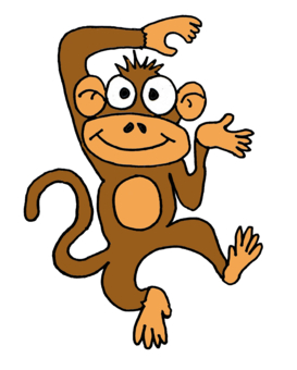 Comic Monkey - ClipArt Best