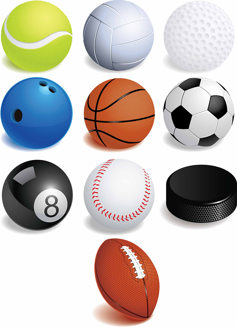 Balls For Sports - ClipArt Best