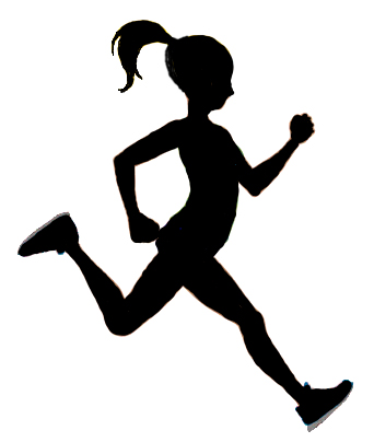 person running silhouette clipart best free lunch lady clip art Lunch Lady Cartoon