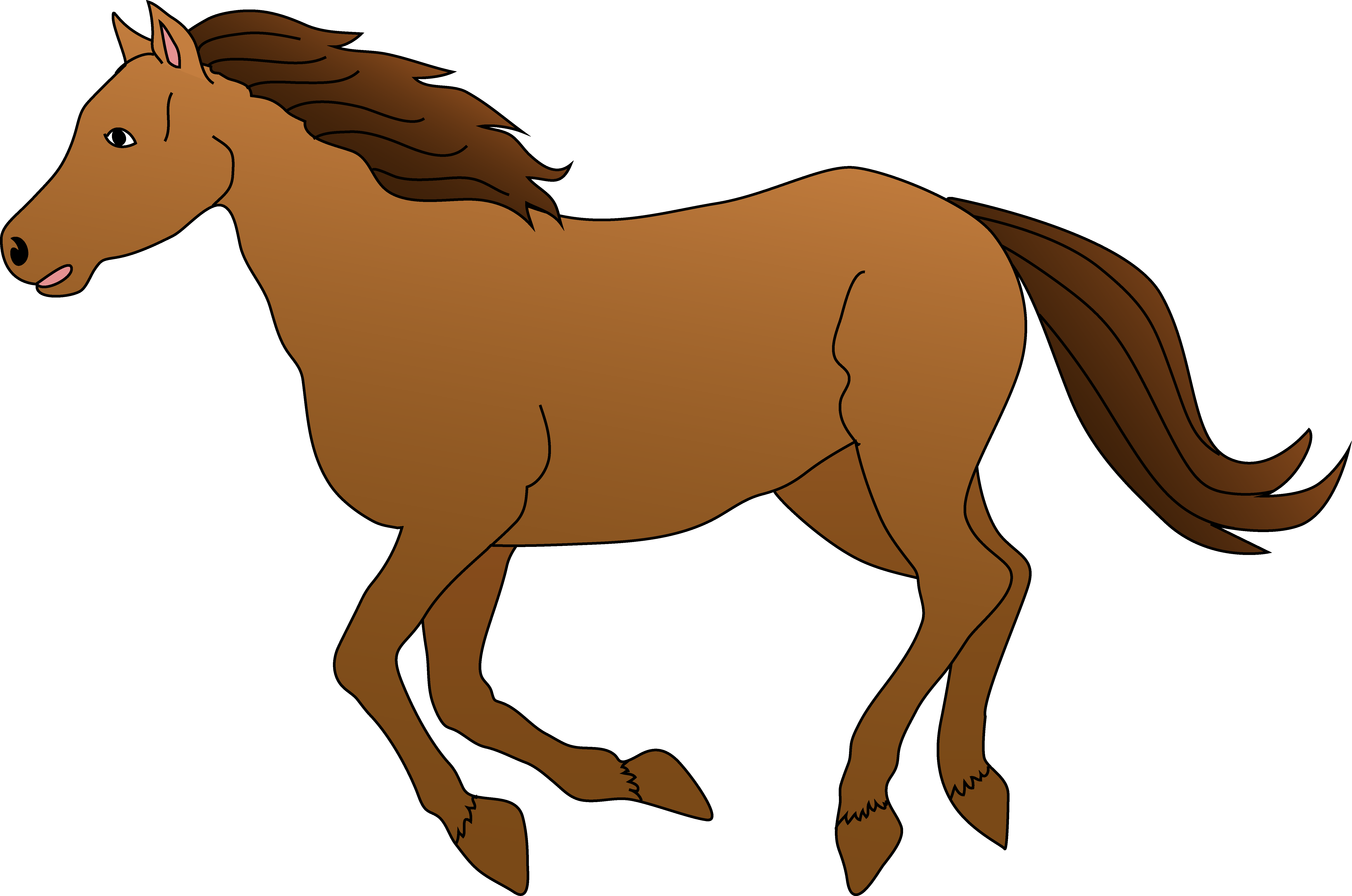 Baby Horse Clipart Clipart Best