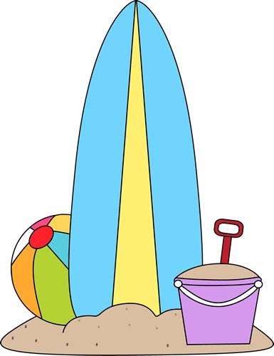 Summer Clip Art Beach - ClipArt Best