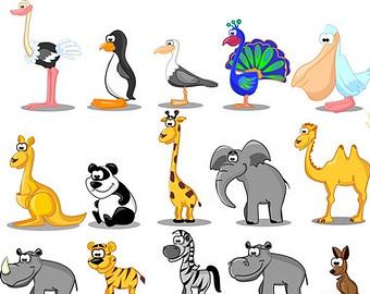 Cartoon Zoo Animals - ClipArt Best