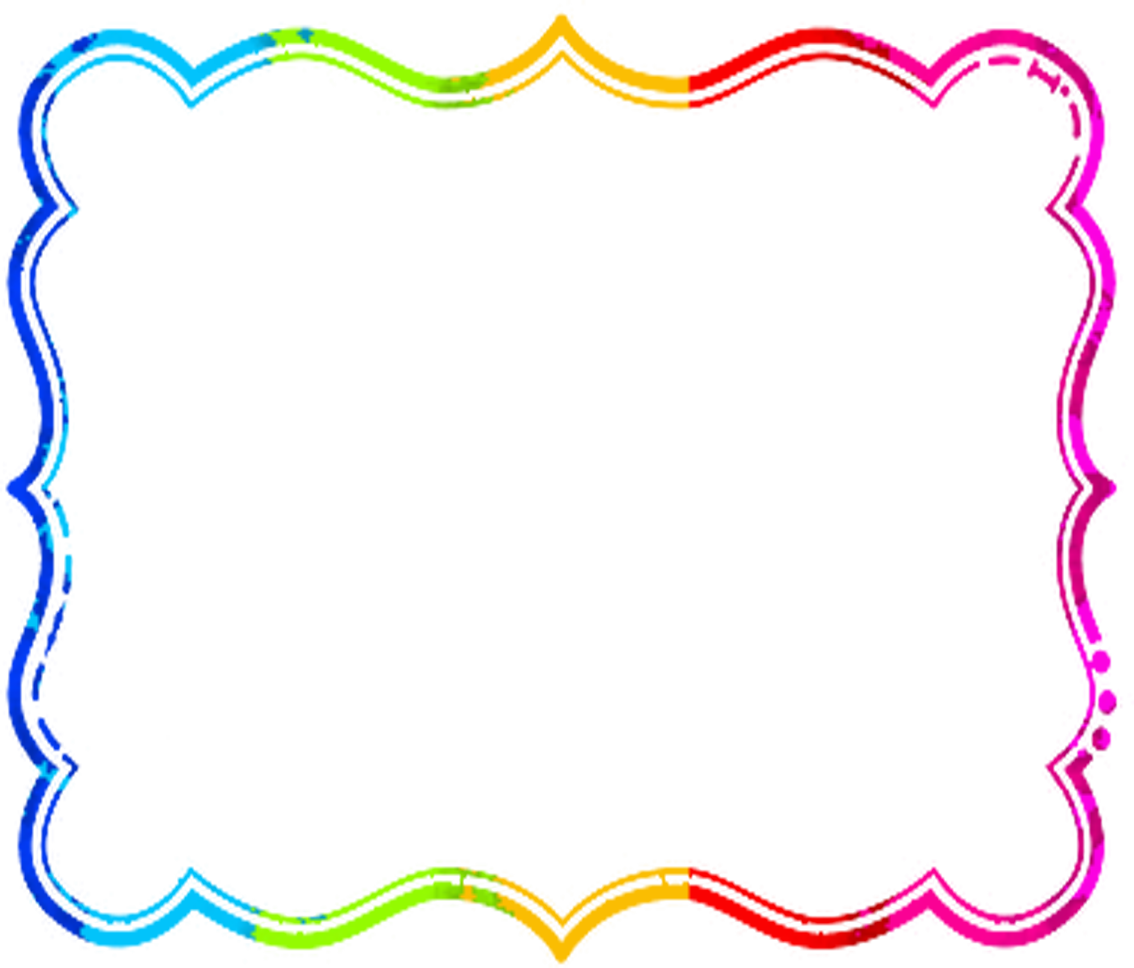 Rainbow Border Clip Art - ClipArt Best - ClipArt Best