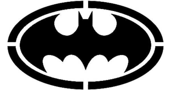 Stencils, Stencil templates and Batman