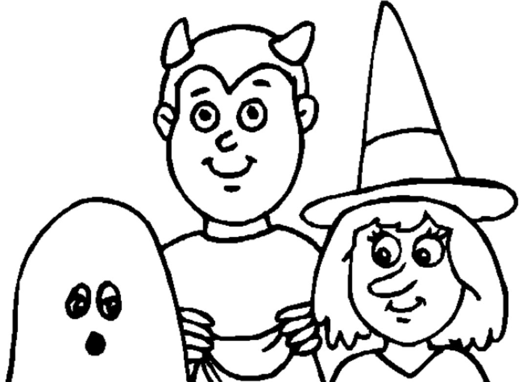 Line Art Halloween : Halloween line drawings clipart best