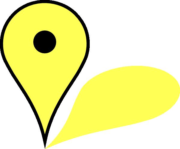 Google Maps Pin clip art - vector clip art online, royalty free ...
