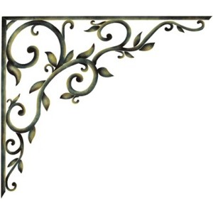 Corner Stencil Swirl - ClipArt Best