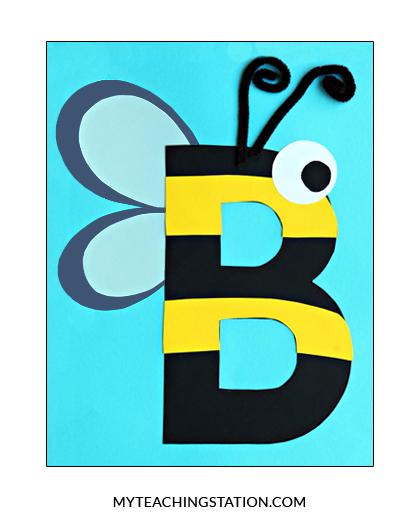 Bee Craft Preschool Printable Activities