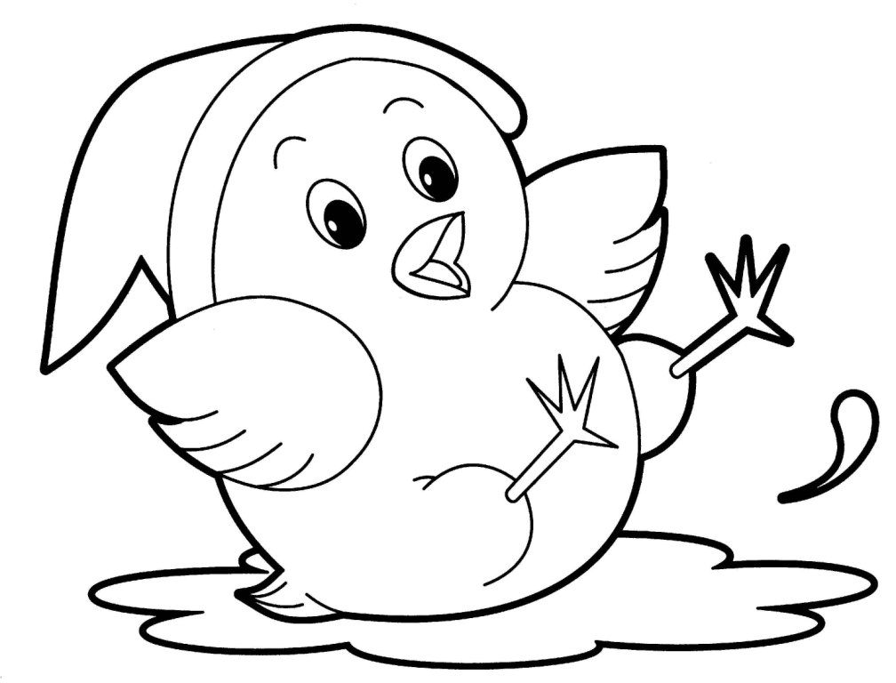 Animal Drawings Kids Color Clipart Best