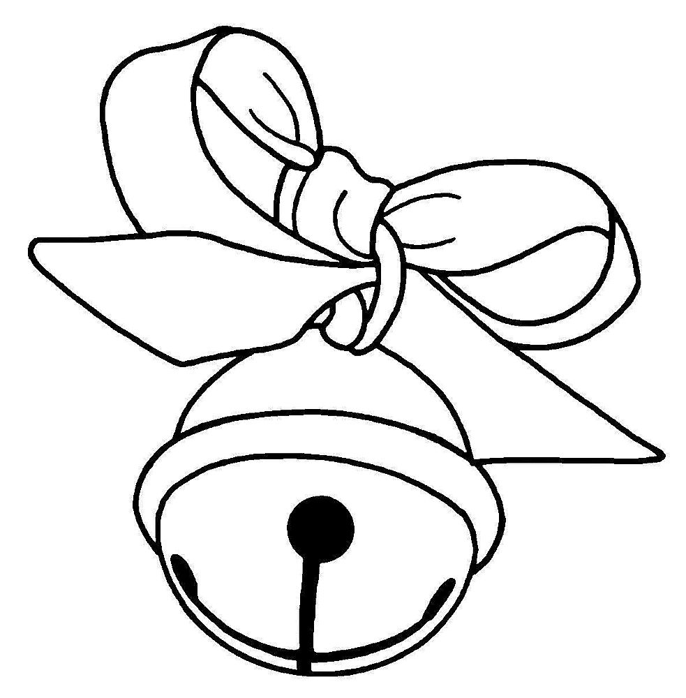 Line Drawing Of Bell Clipart Best