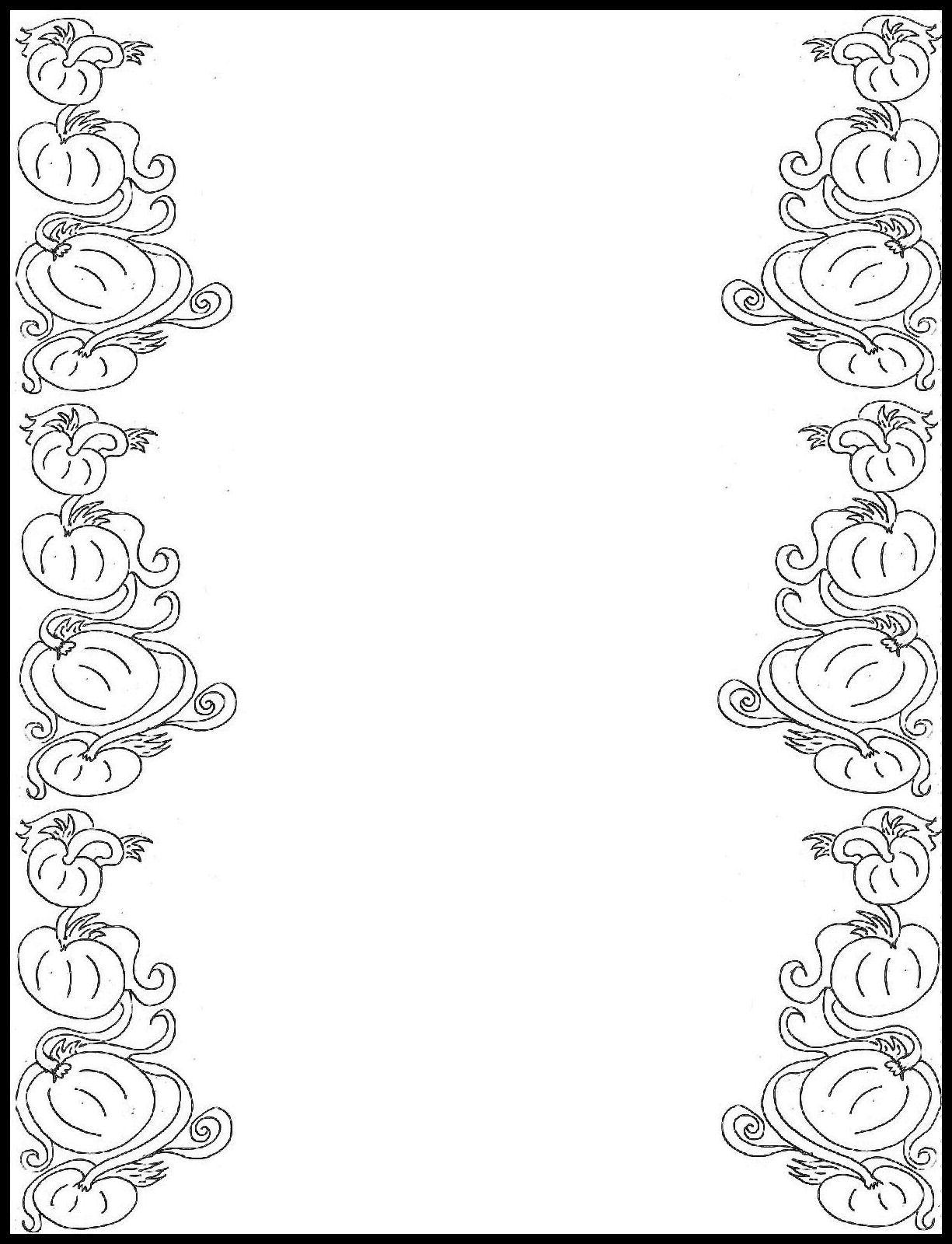 Free printable paper border designs christian clipart best for Landscape design paper