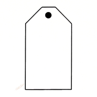 luggage tag template clipart best. Black Bedroom Furniture Sets. Home Design Ideas