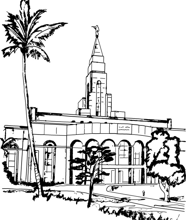Illustration of lds clipart temples | ClipartMonk - Free Clip Art Images