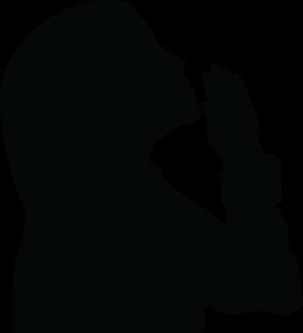Prayer Siluette Clip Art - ClipArt Best