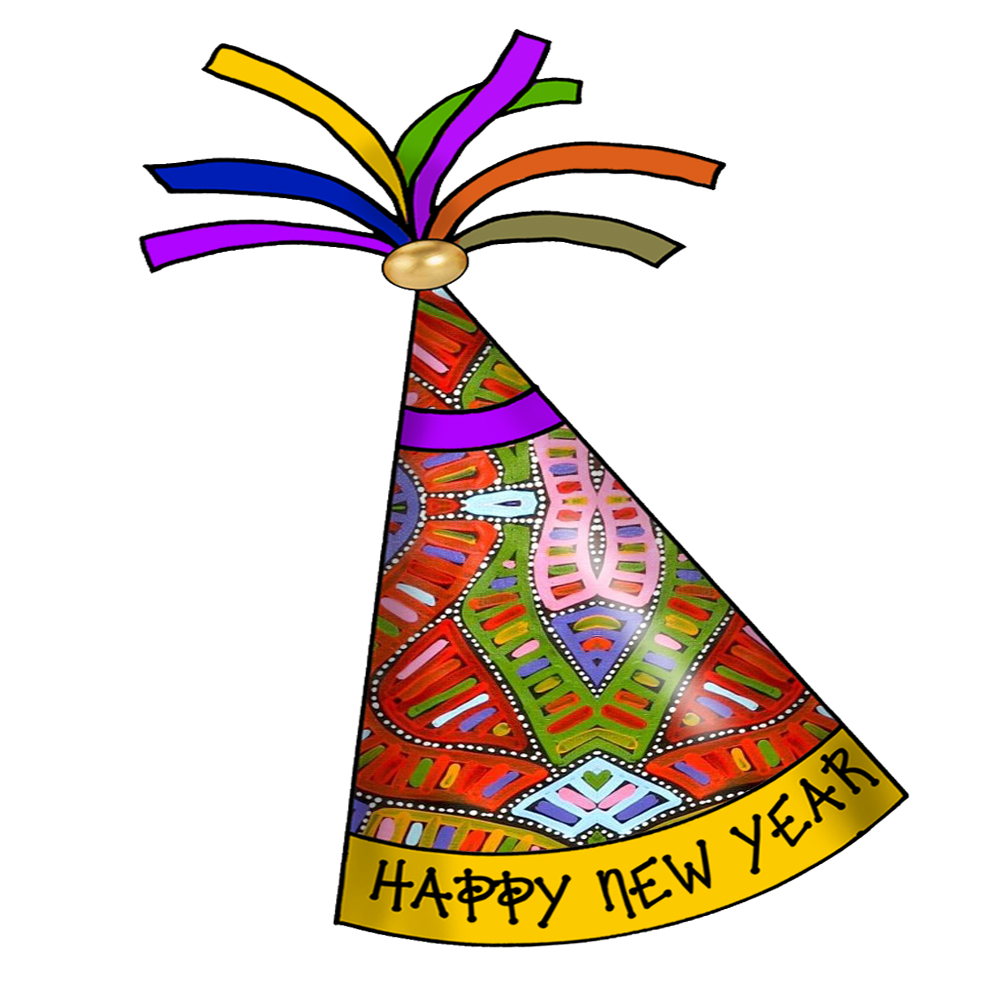 new year hat clipart - photo #14
