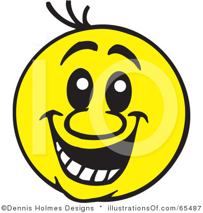Funny Face Clipart Funny Smiley Face Clipart