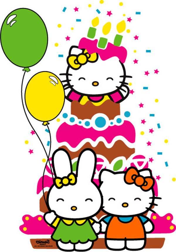 Hello Kitty Birthday Clipart Hello Kitty Happy Birthday