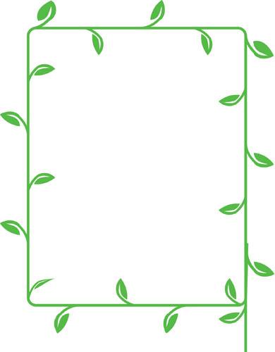 Beanstalk leaf template