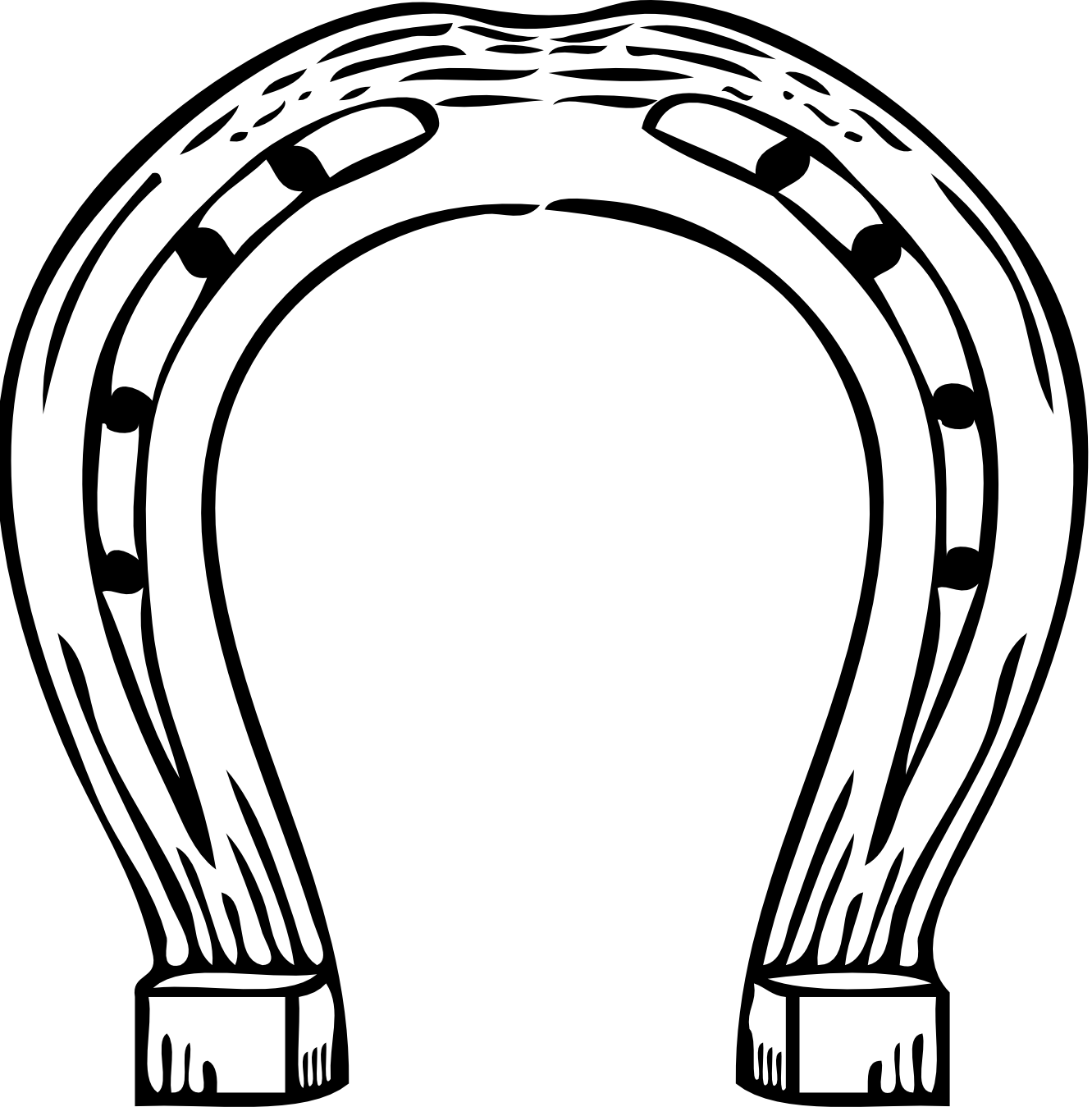 Horseshoes drawings
