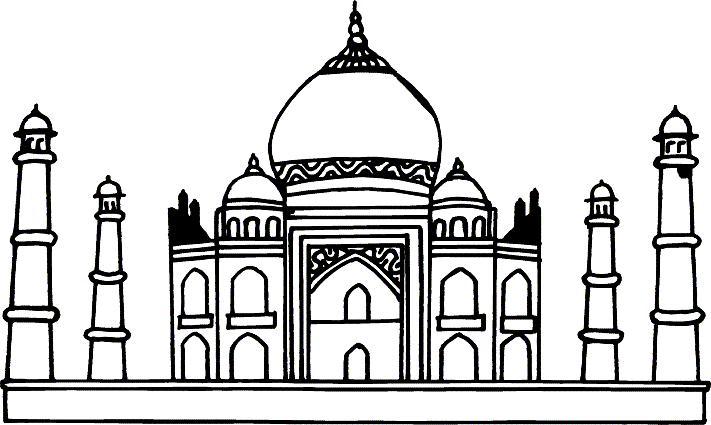 Clip Art Taj Mahal - ClipArt Best