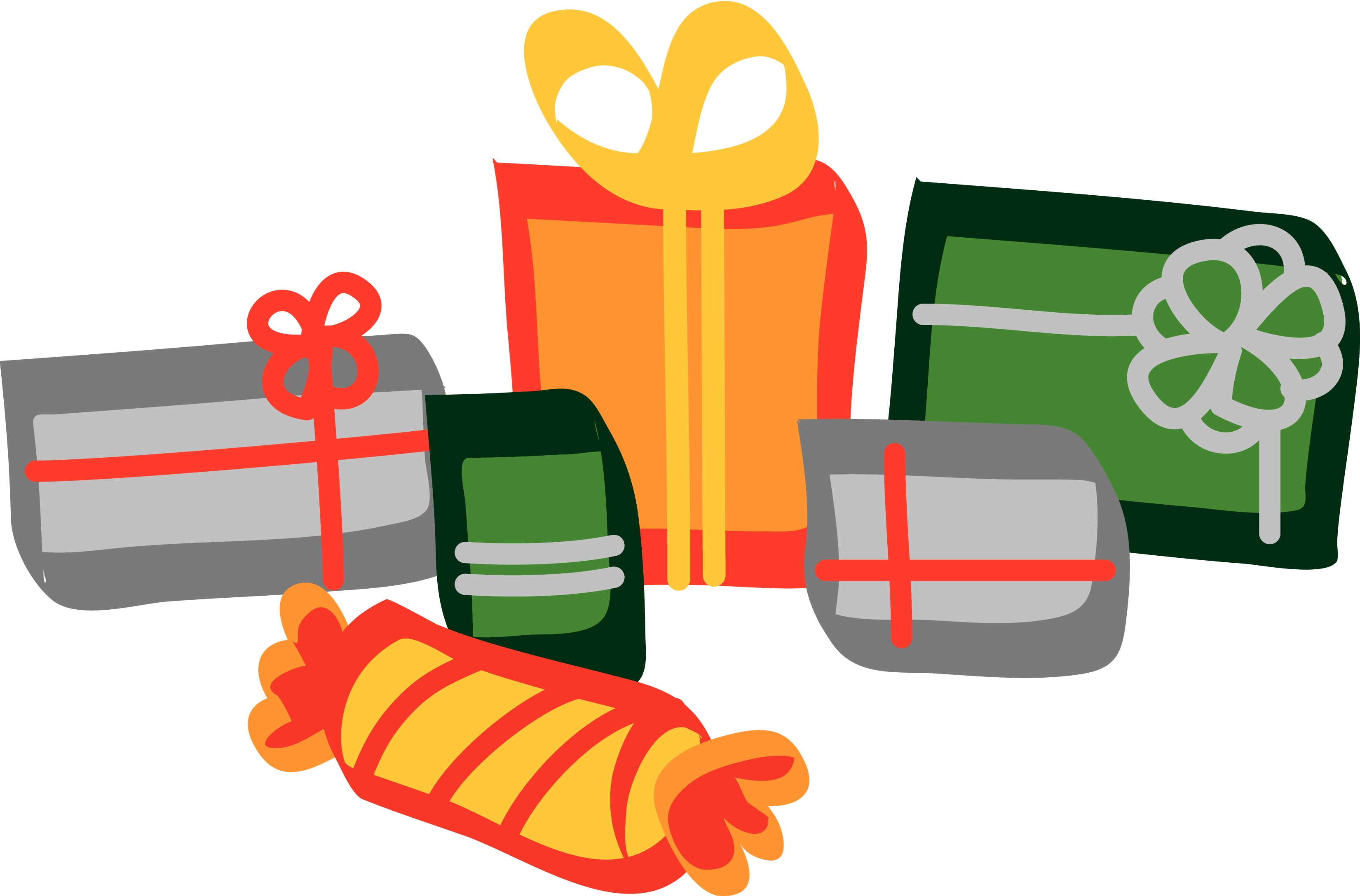 christmas gifts clipart - photo #32