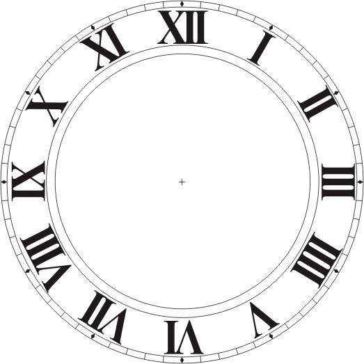 Clipart Clock Face - ClipArt Best