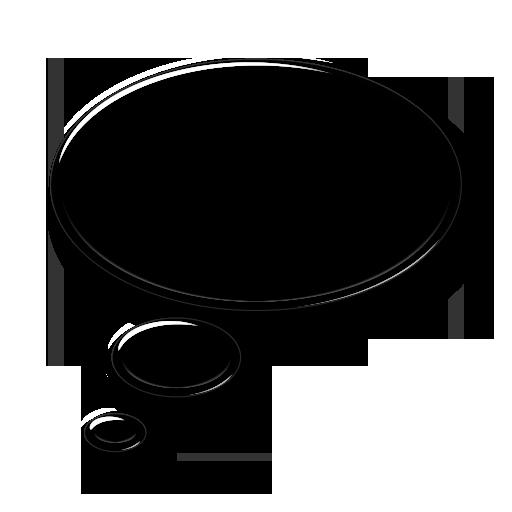 Transparent Thinking Bubble - ClipArt Best