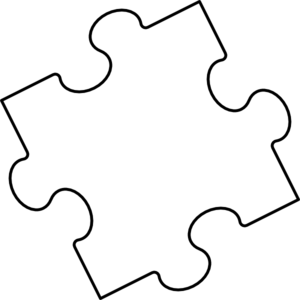 Blank Puzzle Pieces Template Free - ClipArt Best - ClipArt Best