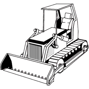 Bulldozer 08 clipart, cliparts of Bulldozer 08 free download (wmf ...