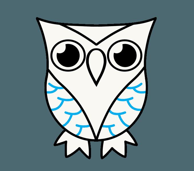 Owl Draw - ClipArt Best
