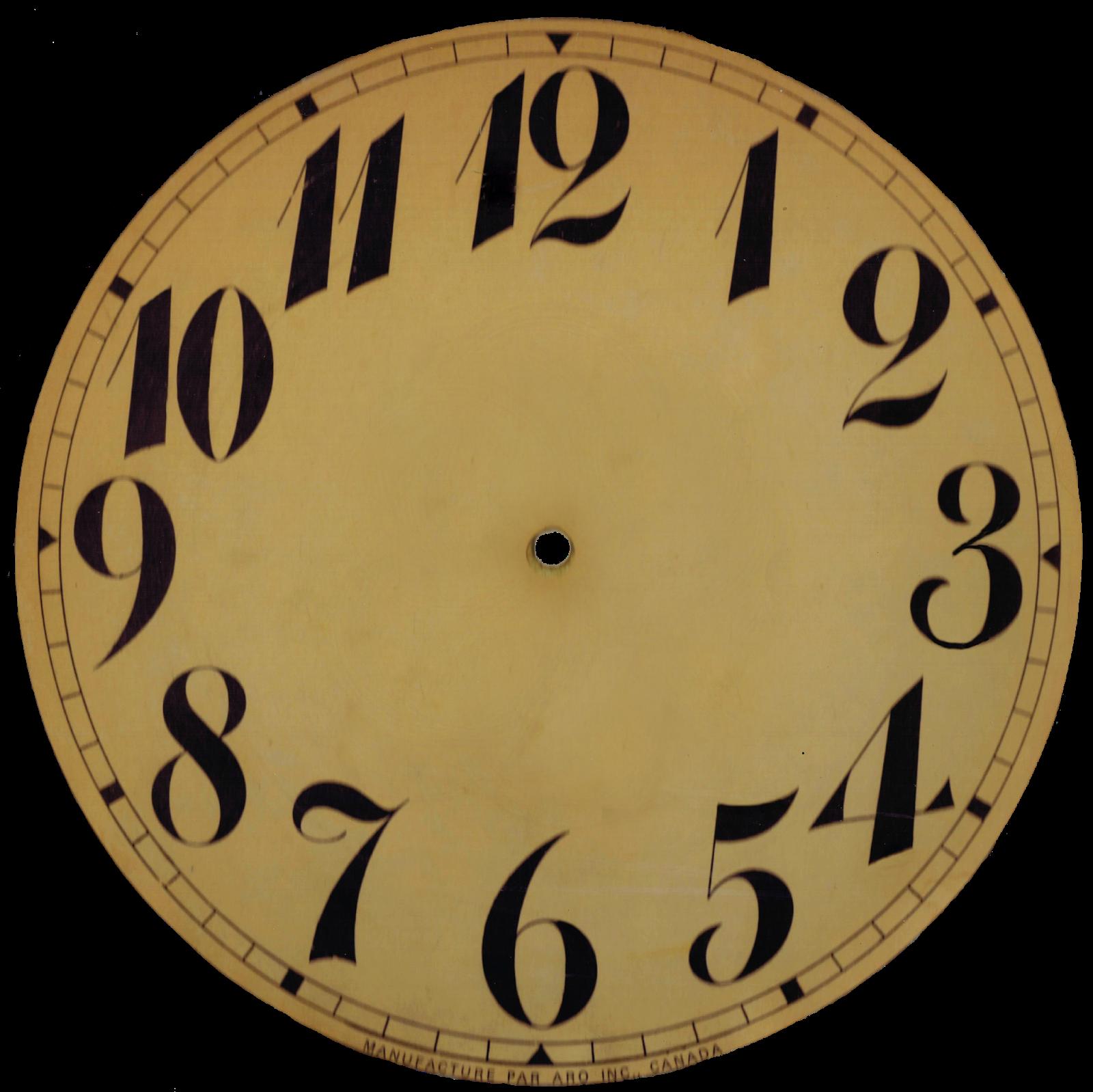 Clock No Hands Png - ClipArt Best