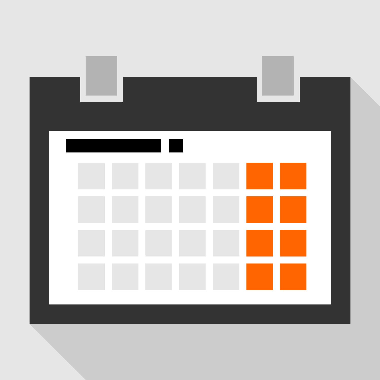 Calendar Vector : Calendar vector clipart best